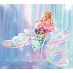 animeantof: dvd barbie hadas fairytopia- niño-madre- navidad