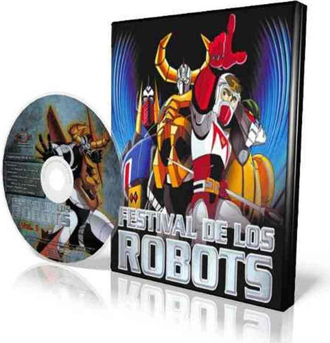 animeantof: dvd el festival de los robots la serie animada