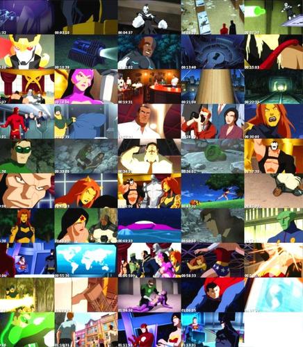 animeantof: dvd liga de la justicia - la legion del mal doom