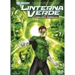 animeantof: dvd linterna verde los caballeros esmeralda - dc