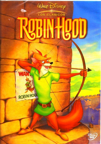 animeantof: dvd robin hood - zorro clasico disney imperdible