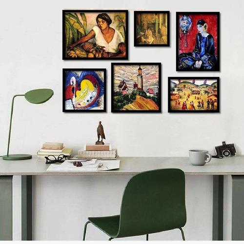 anita malfatti, quadros famosos seleção melhores kit6