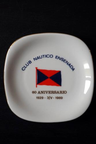 aniversario - club nautico ensenada -  año 1989 - loza-10x10