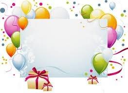 Клипарт фон для поздравления с днем рождения фото 874