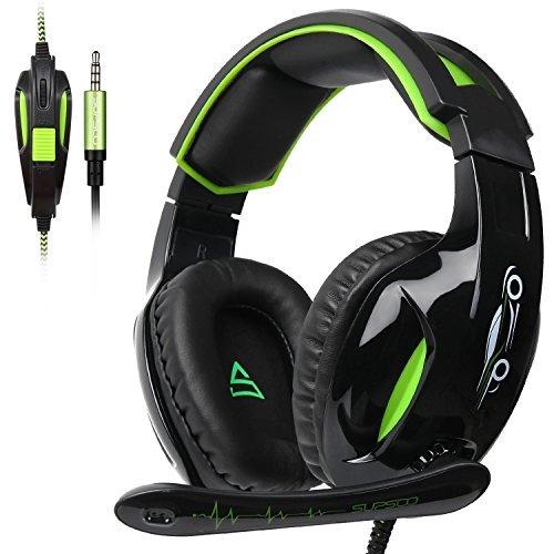 anivia g813 gaming auriculares 3,5 mm con cable encima oreja