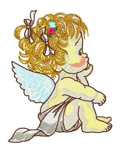 anjinhos morehead baby - coleção de matriz de bordado