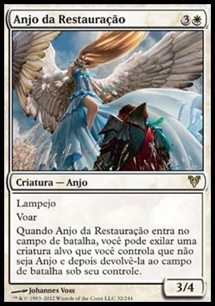 anjo da restauração / restoration angel