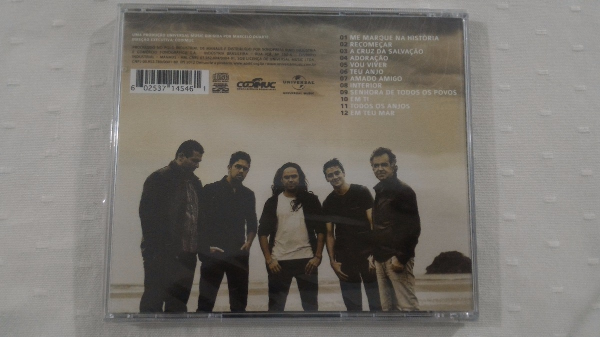 cd anjos de resgate 2012 marcados pelo amor