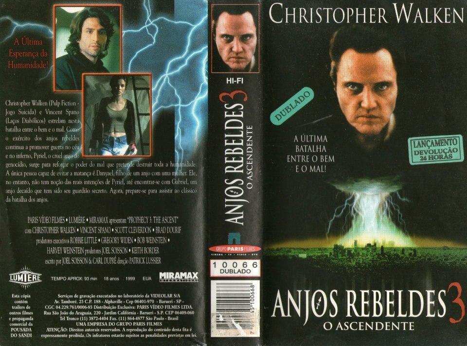 Anjos Rebeldes - 1 2 & 3 - 2 Vol Christopher Walken 2dublado - R$ 50,00 em  Mercado Livre