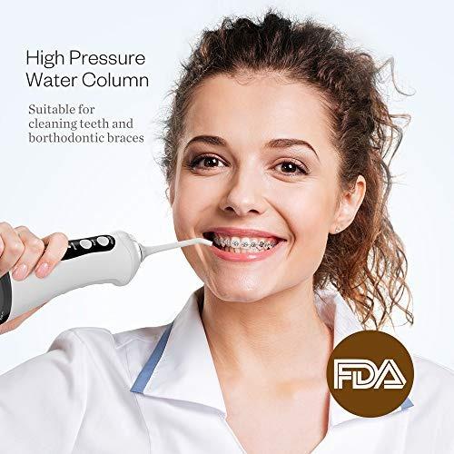 anjou 300 ml destellos de agua inalámbricos irrigador oral