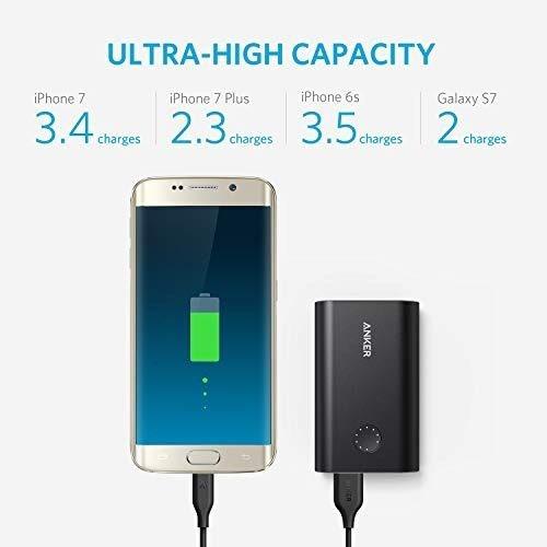 anker powercore+ 10050 premium aluminum portable charger wit