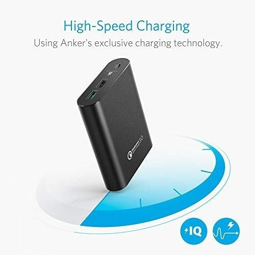 anker powercore+ 13400 with quick charge 3.0 (output only),