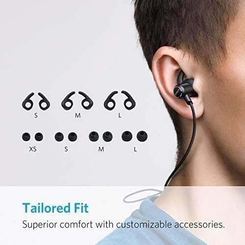 anker soundbuds auriculares inalámbricos slim bluetooth 4.1