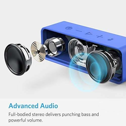 anker soundcore altavoz con bluetooth y 24horas de reproduc