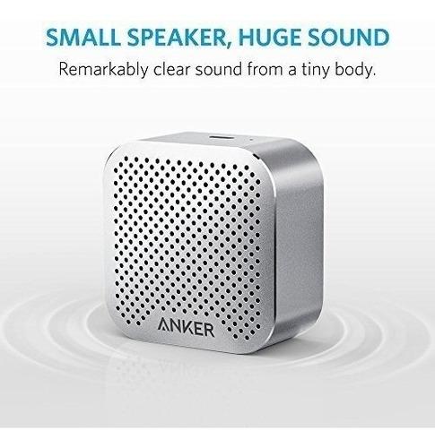 anker soundcore nano altavoz bluetooth con big sound, altavo