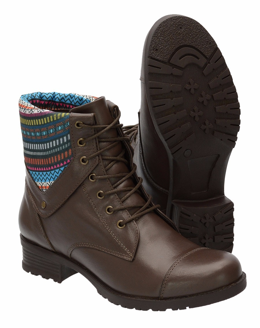 Bota Cano Curto Feminina Ankle Boot Coturno Botina Moto 2851 - R ... 854a410def