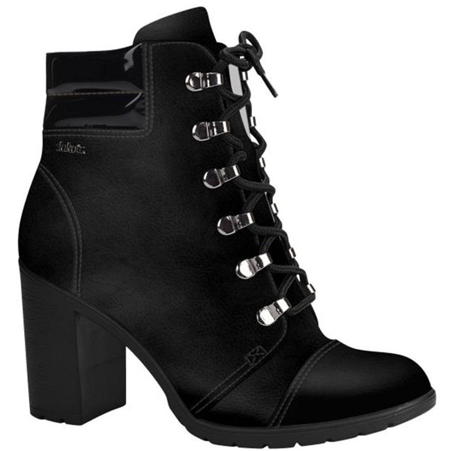 7787a6888 Ankle Boot Feminina Dakota Preta B9572 - Frete Grátis - R$ 192,99 em ...
