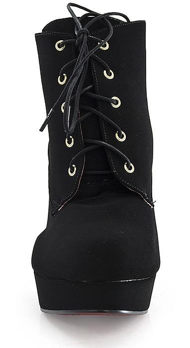 9d2194ba31f2 Ankle Boot Numeração Especial Sapato Show 943716e - R$ 219,90 em ...