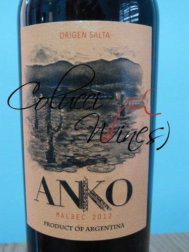 anko malbec - alejandro sejanovich - caja 6x750ml