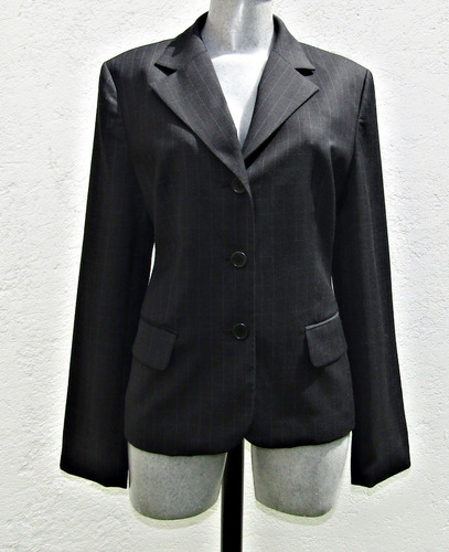 ann klein suit saco para dama  talla 8p / 30p