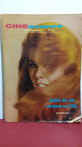 ann - margret revista cine avance no 141 enero 1967