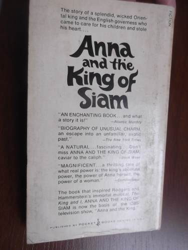 anna and the king of siam margaret landon en ingles pelicula