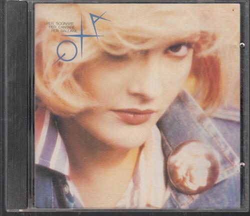 anna oxa. per sognare. cd original usado. p71. qq8.