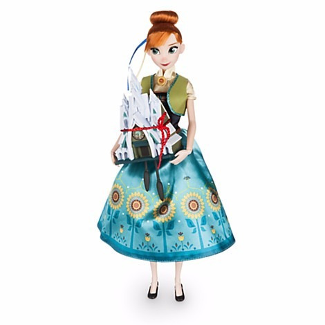 anna singing doll set - 11'' - frozen fever