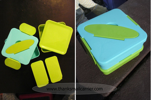 annabel karmel double decker mealbox importado