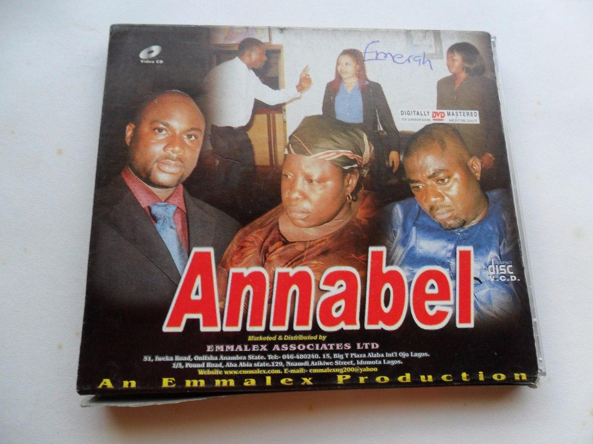 Filme Africano inside annabel vol, 1 e 2 - box 4 vcds filme africano em inglês - r$ 59