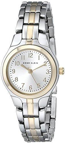 anne klein 105491svtt reloj de vestir de dos tonos para muje