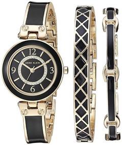 Negro Klein De Para Mercado Anne Reloj Falso En Oro Mujer xeCrWodB