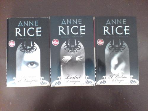 anne rice cronicas vampiricas 12 libros