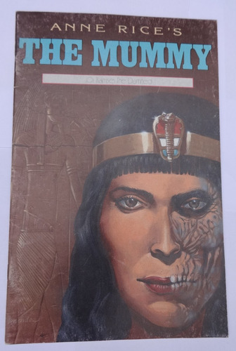 anne rice - the mummy or ramses the damned nº 6 - hq - 1991
