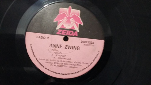 anne zwing lp vinilo reggae africano