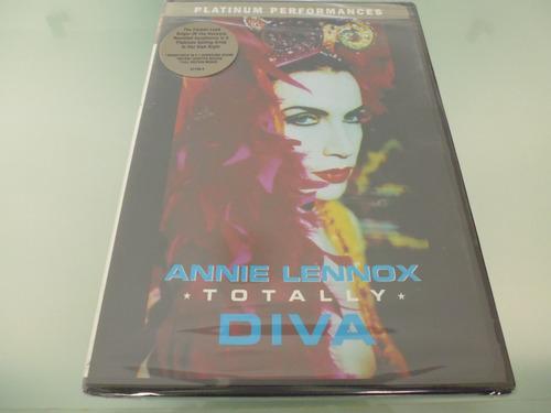 annie lennox / totally diva / dvd / importado de u.s.a /