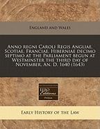 anno regni caroli regis angliae,, england & wales sovereign