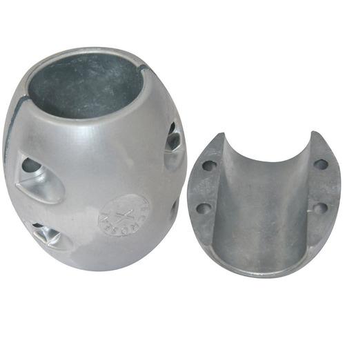 ánodo del eje tecnoseal x10al - aluminio - diámetro del ej
