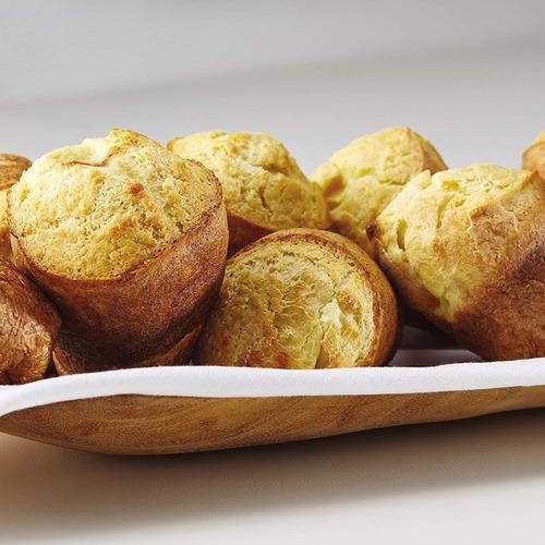 anolon avanzado anolon bakeware 6- taza popover pan, gris