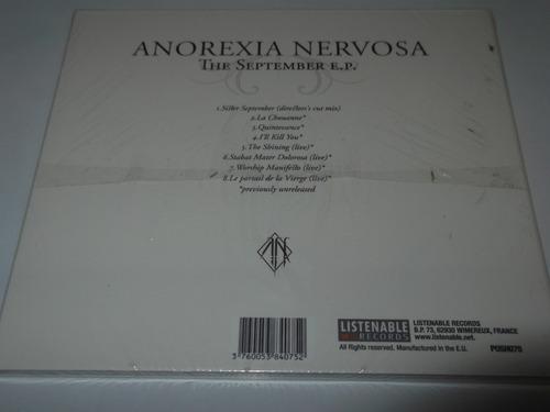 anorexia nervosa cd september ep septic flesh rotting dist0
