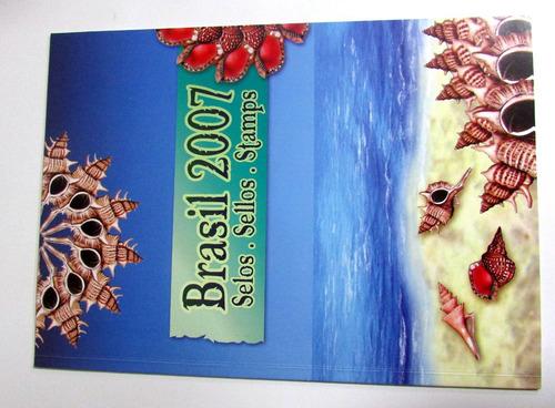 anos completo selo  brasil 2007