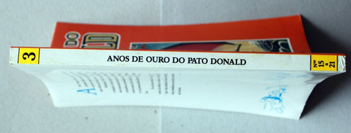 anos de ouro do pato donald - vol. 3