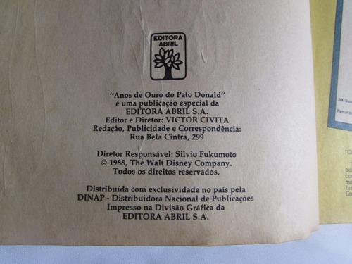 anos de ouro do pato donald - volume 2 - abril cultural 1988