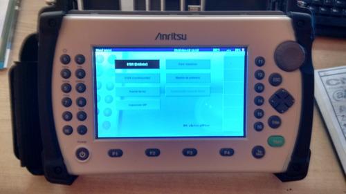 anritsu mt9083a otdr (optical time domain reflector)