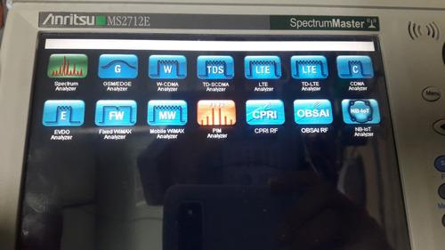 anritsu r&s servicio técnico analizadores espectro lte pim 5