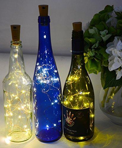 ansaw spark i botella de vino en forma de corcho pro, con p