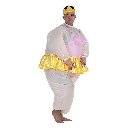 anself bailarina disfraz fat suit inflable blow up fiesta de