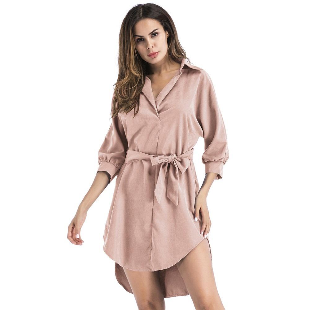 Anself De La Correa Partido Elegante Mini Vestidos De Ol - $ 344.10 ...