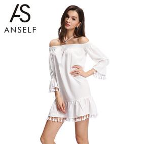 39720d60823a Vestidos Solo Una Puesta Marella - Vestidos de Mujer Largo Blanco en ...