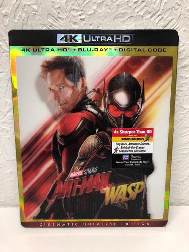 ant-man and the wasp 4k/ bluray/ digital hd ed. americana